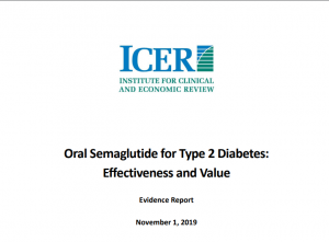 ICER Report Oral GLP-1 Semaglutide