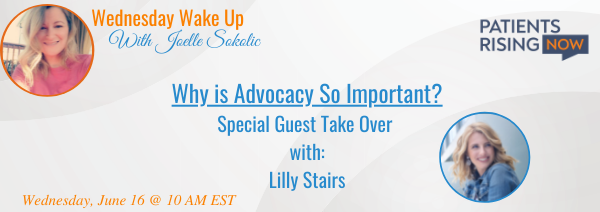 Wednesday Wake Up: Why is Advocacy So Important?