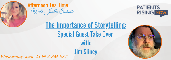 Afternoon Tea Time: The Importance of Storytelling