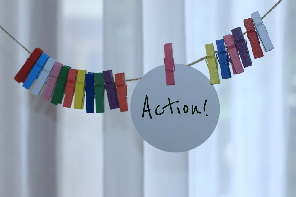 action banner