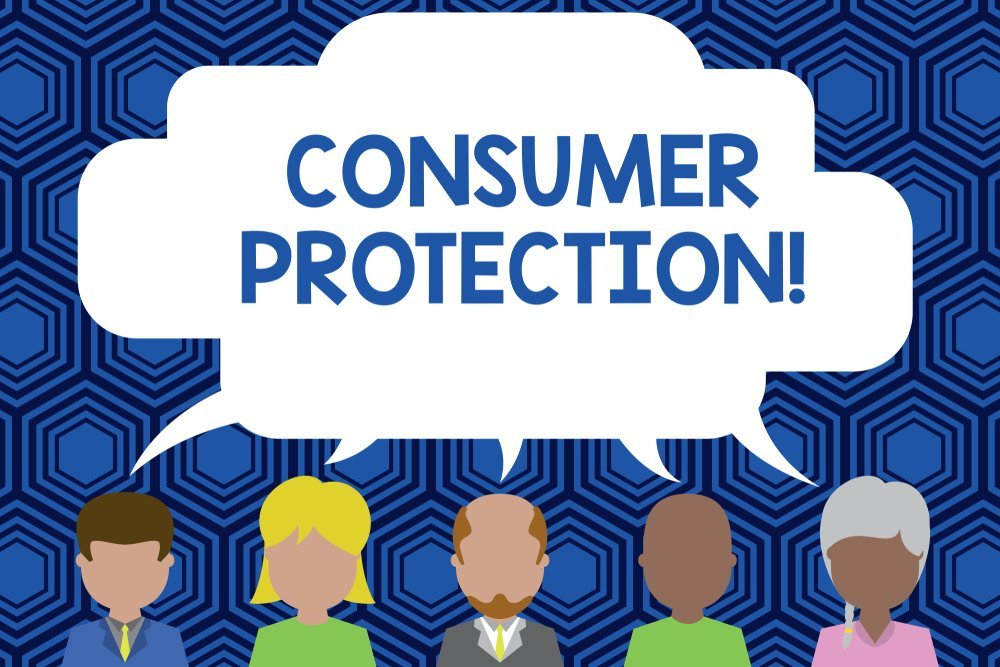 illustration of consumer proptection